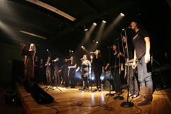 シェパード大学スクールオブミュージック練習風景